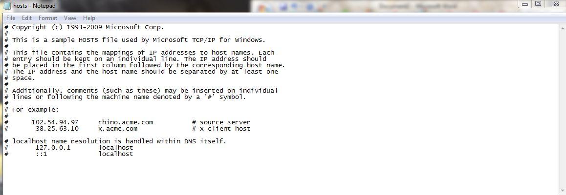 block website software windows 7